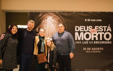 """Fotos Pré-estreia do Filme """"Deus não está morto – Uma luz na escuridão"""""""